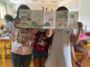 Création d'un carnet de voyage avec les jeunes de la ComCom